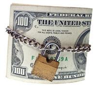 money-locked
